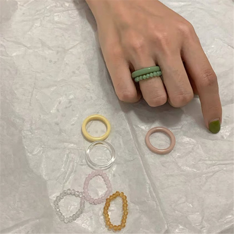 Charming Resin Ring for Fashion