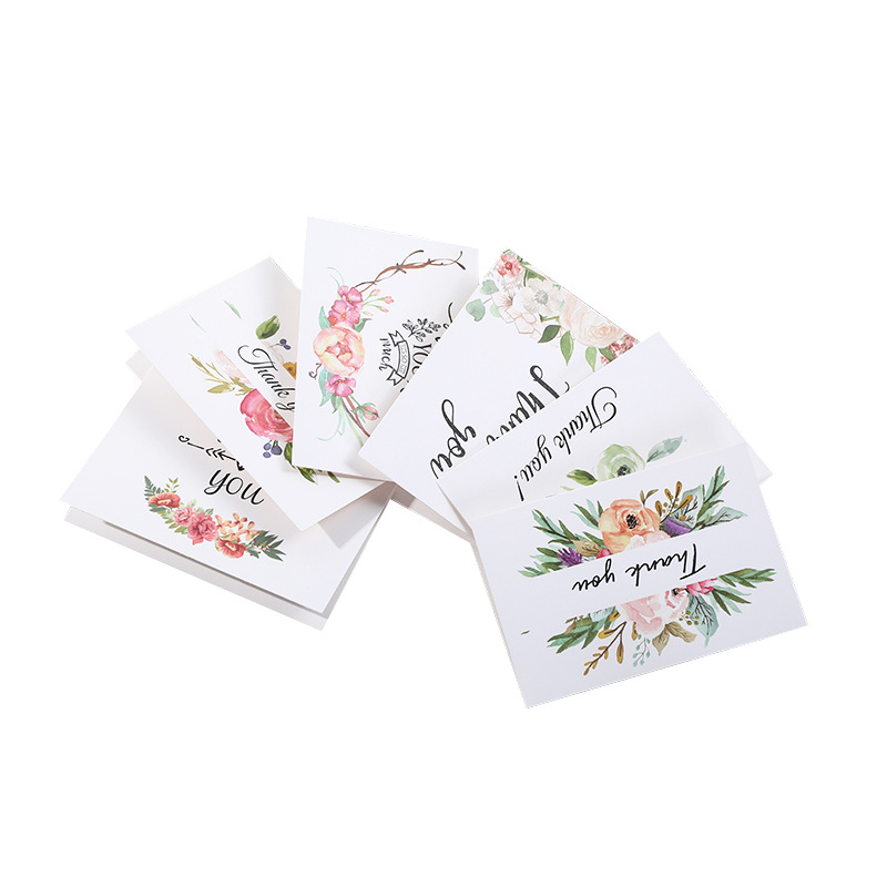 Floral Painting Thank You Cards