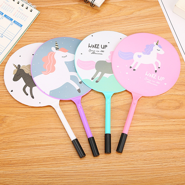 Cute 2-In-1 Fan And Ballpen for Kids' Party Prize