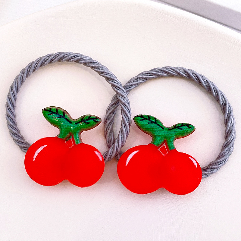 Resin Charms Twisty Hair Tie