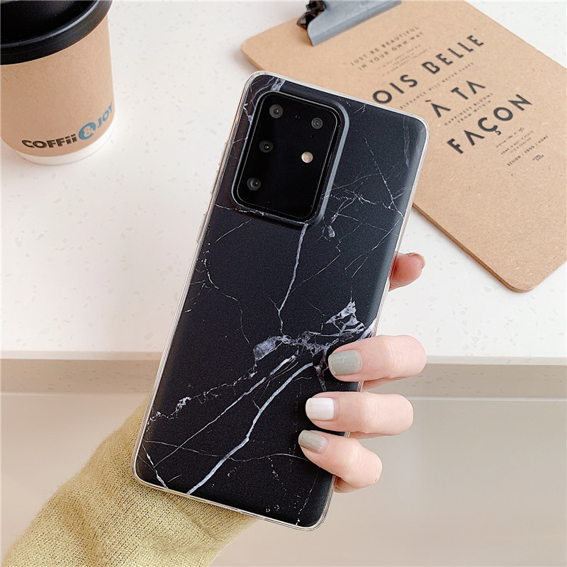Marble-Like Mobile Case for Samsung