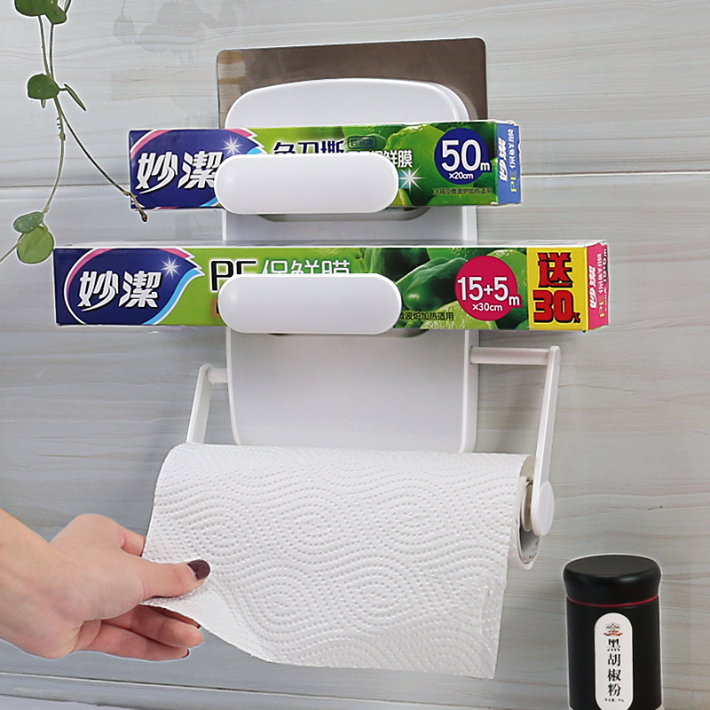 Simple Tissue Roll or Food Wrapper Holder for Kitchen