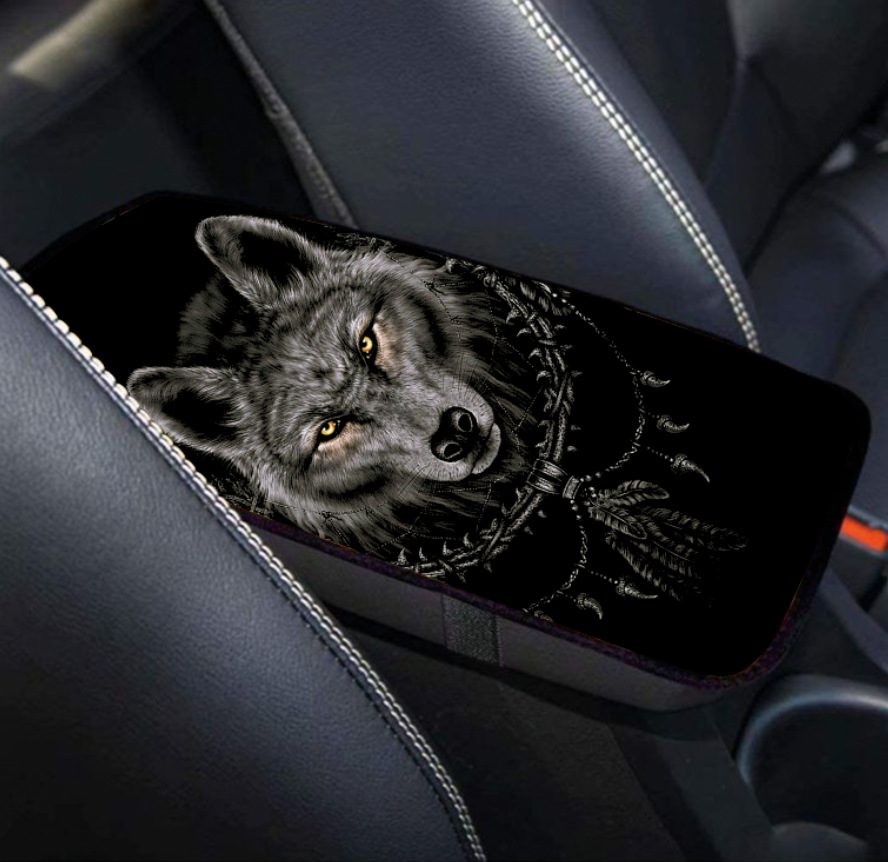 Fierce Alpha Wolf Armrest Cushion for Father's Day Gifts
