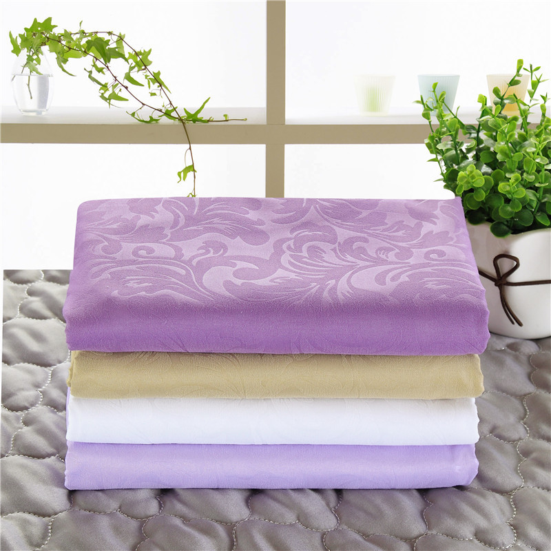 Decorative Scroll Leaves Blanket for Spa Beds