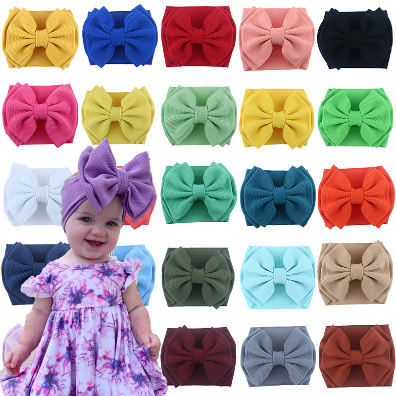 Lovely Ribbon Head Band for Styling Your Baby