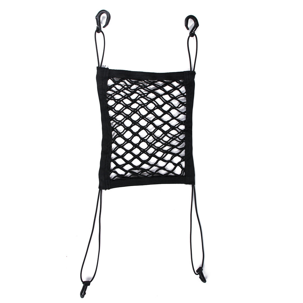 Elastic Black Oxford Cloth Pet Safety Net for Cars