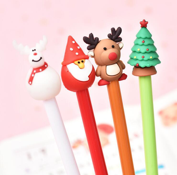 Adorable Christmas Theme Gel Pen for Work and School Use
