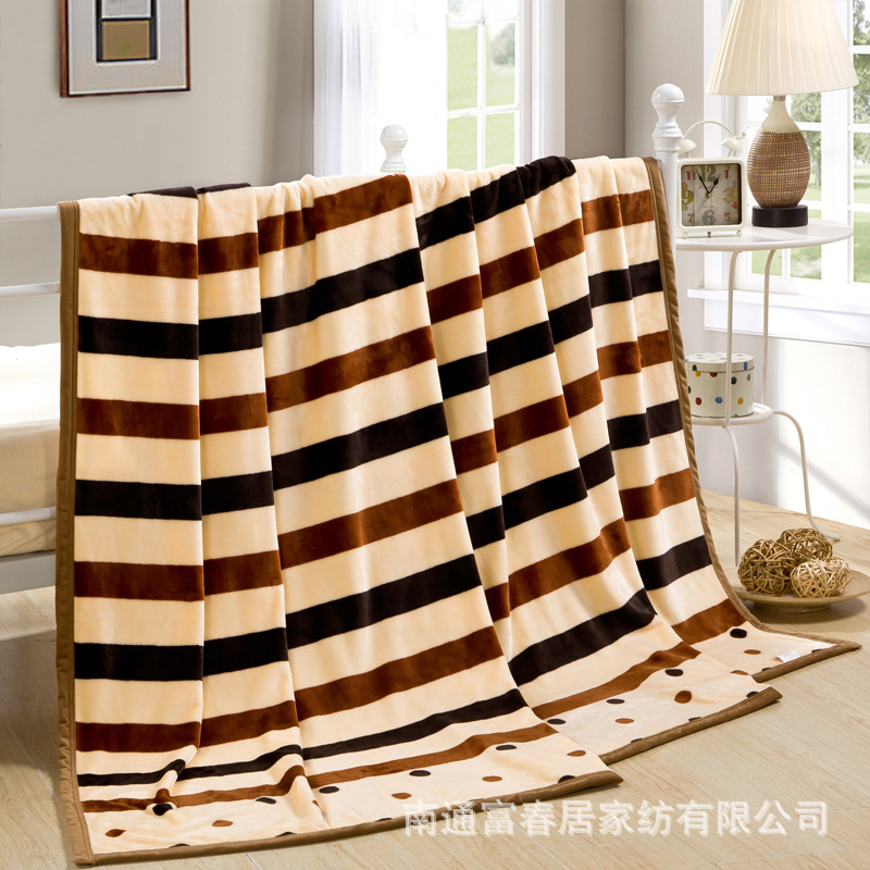 Lively Prints Thick Blanket for Watching TVs