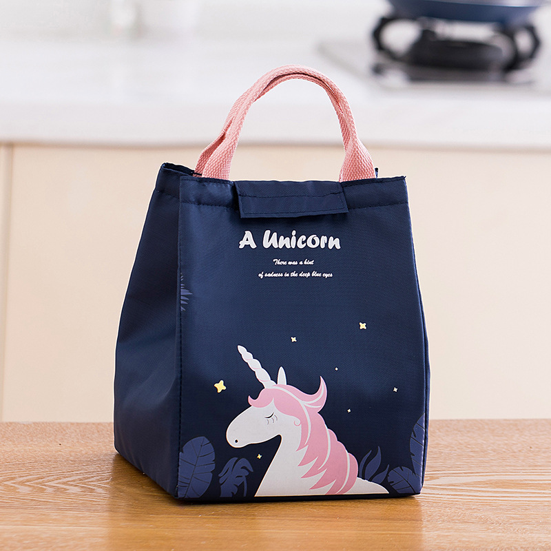 Adorable Printed Insulated Lunch Bag for Packed Lunches