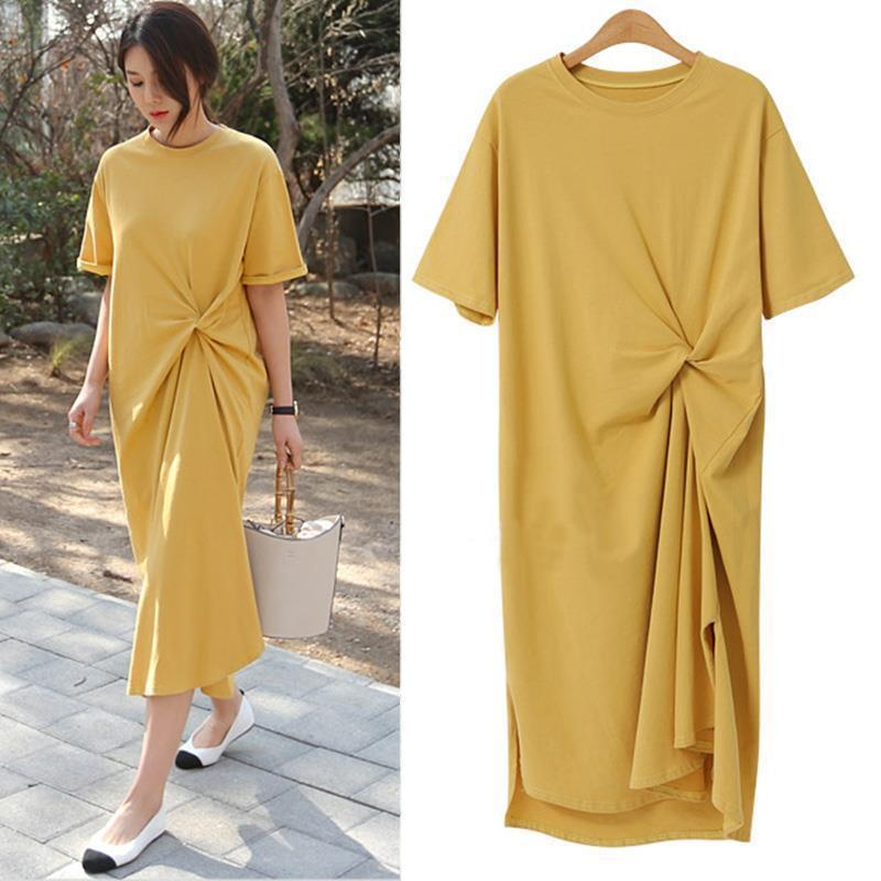 Stylish Knotted Dress for Classy Laidback Looks