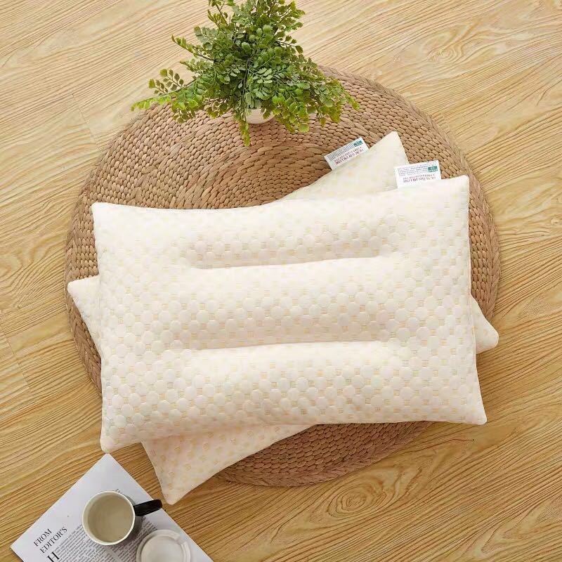 Gentle Polyester Fiber and Latex Pillow Core for Comfortable Slumber