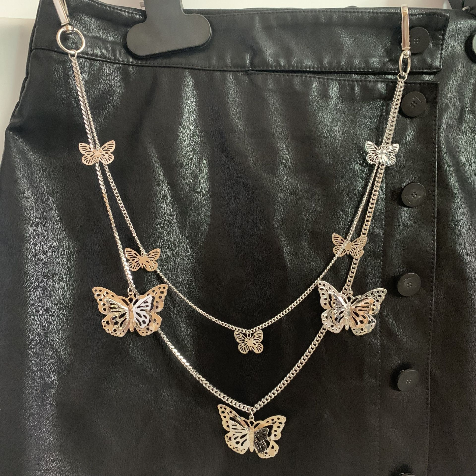 Alloy Butterfly Chain for Gothic Fashion Style