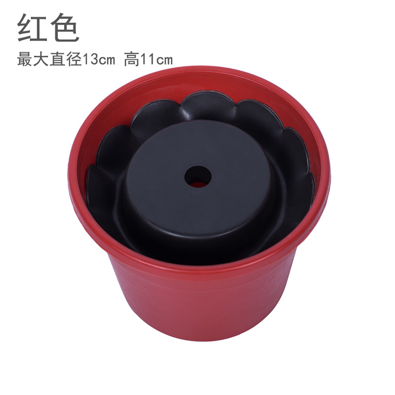 Small Plastic Flower Pot for Artificial Flowers
