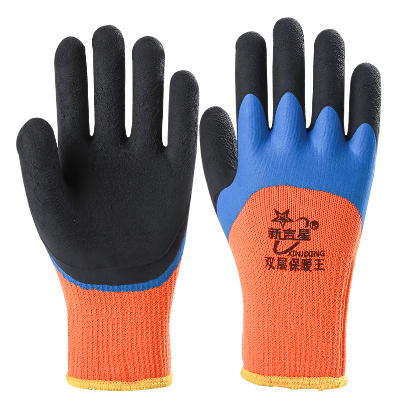 Heavy-Duty Industrial Gloves for Working in Factories