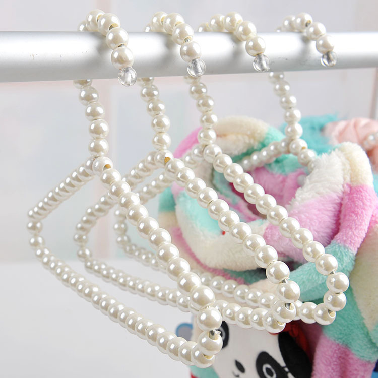 Fancy Beaded Pet Clothes Hanger for Organized Closets