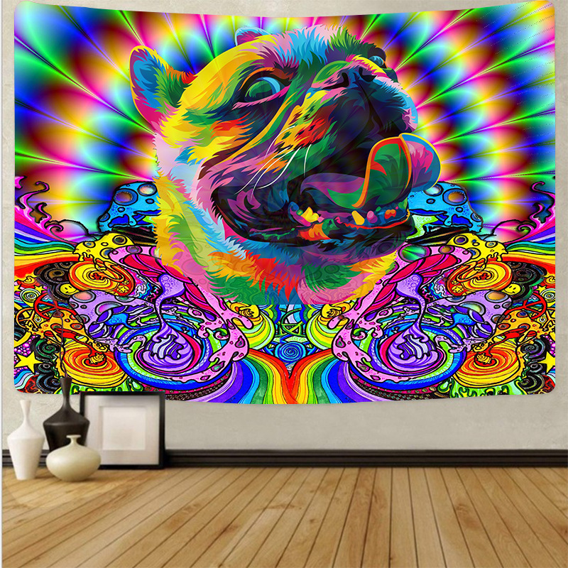 Psychedelic Mood Tapestry