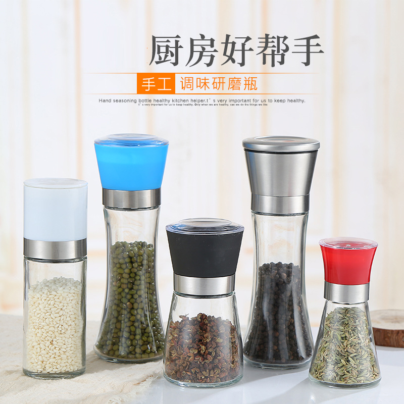 Useful Manual Pepper Grinder for Kitchen Condiments Use