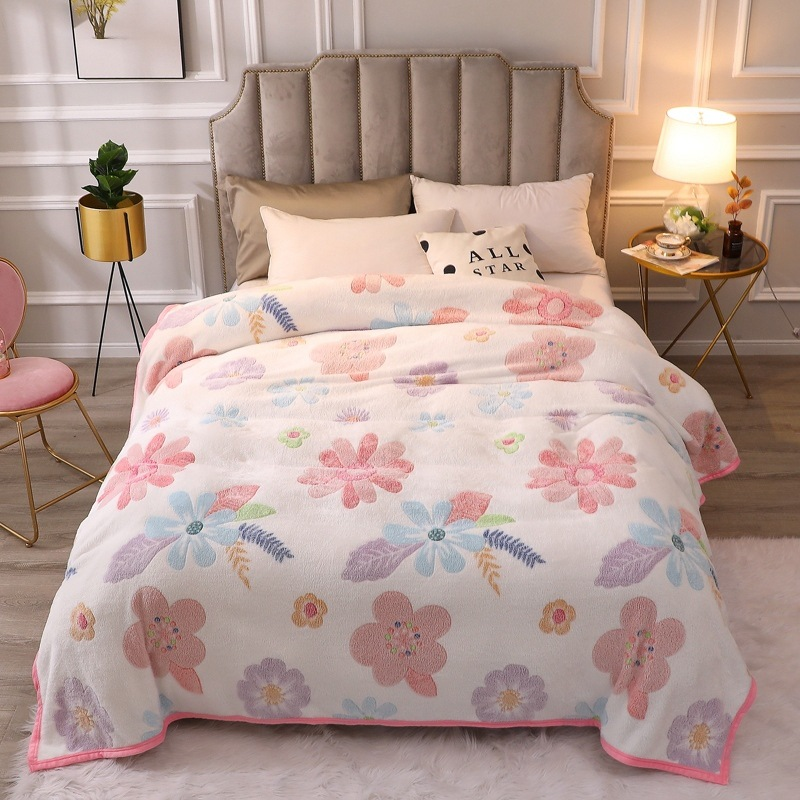 Brion Printed Polyester Blankets