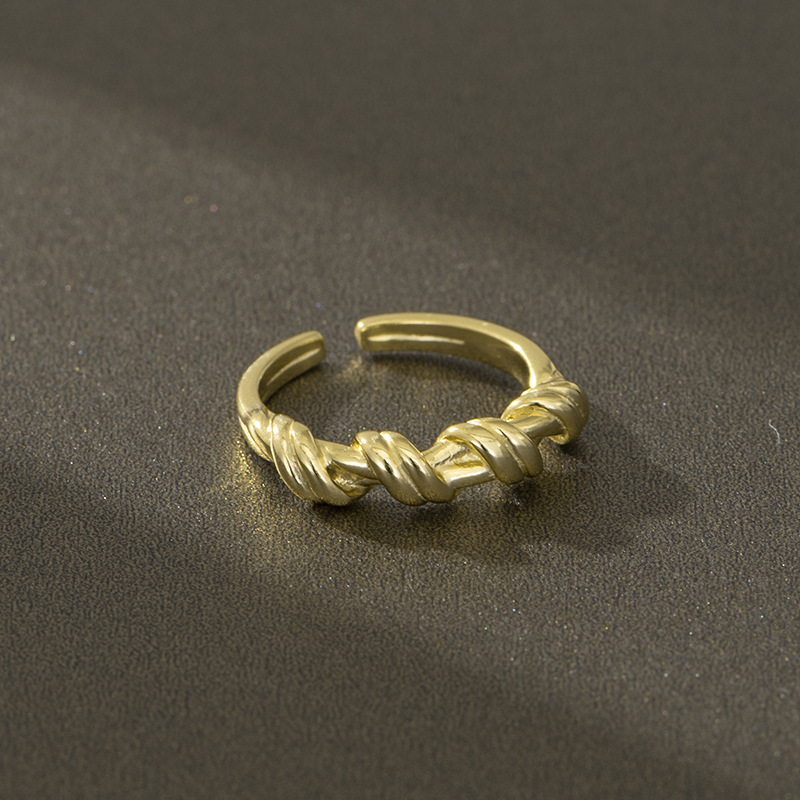 Knotted Open Ring