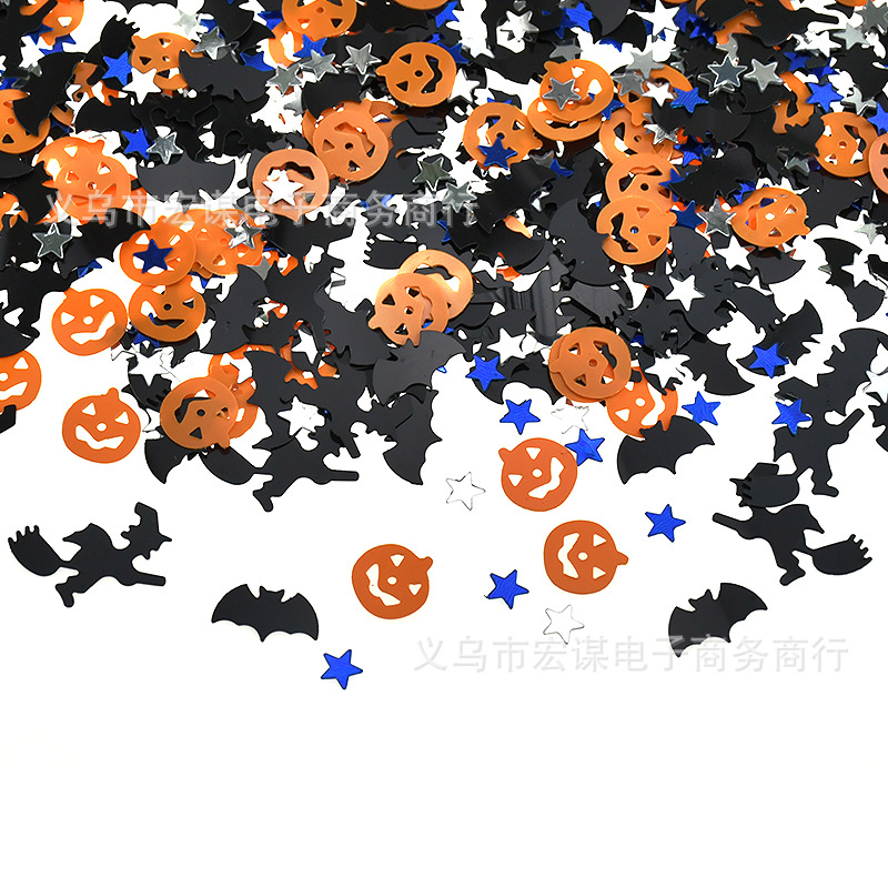 Creative Halloween Design Confetti Party Decoration for Halloween Parties