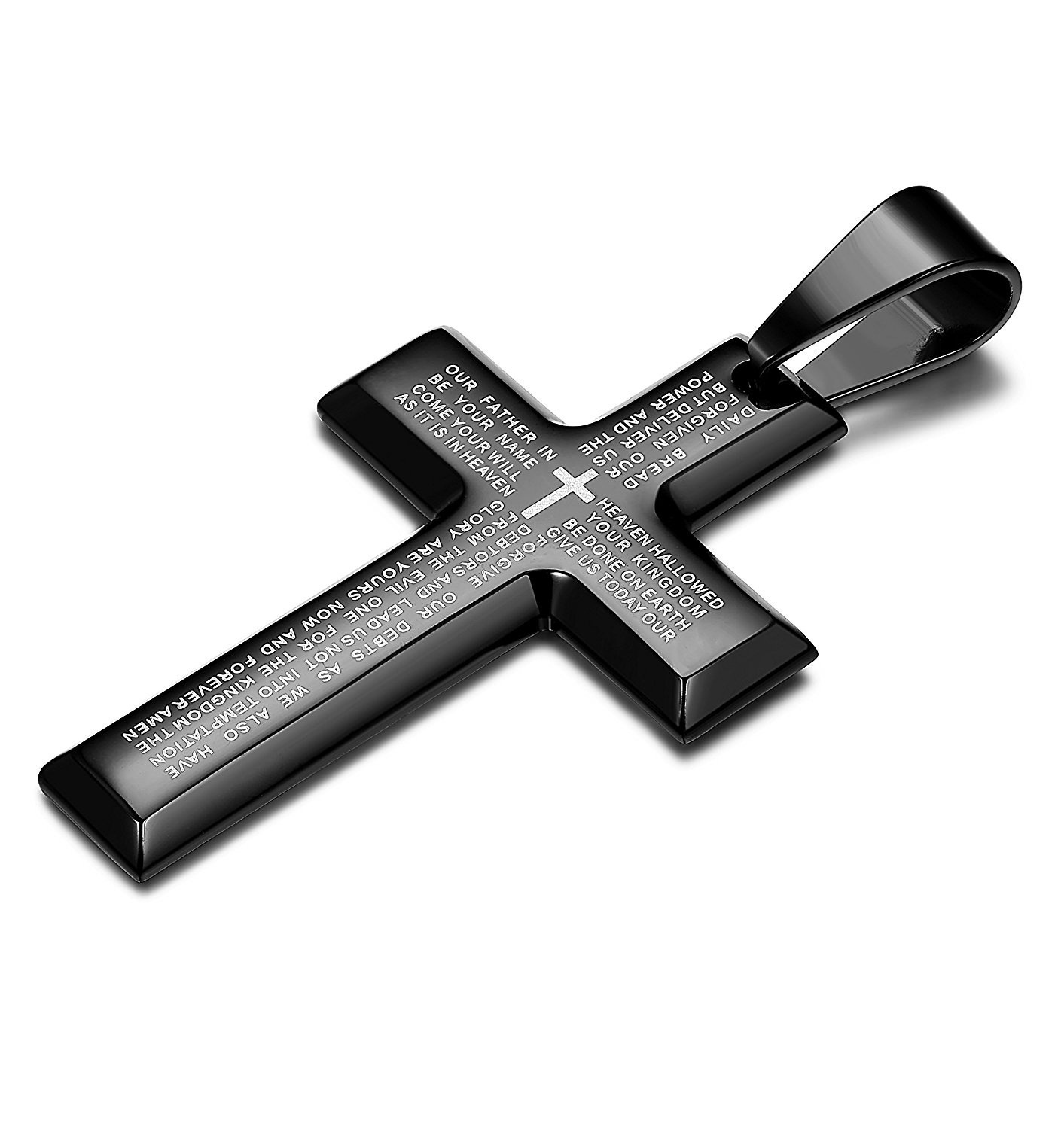 Cleanly Made Statement Cross Pendant for Unique Necklace Fashion