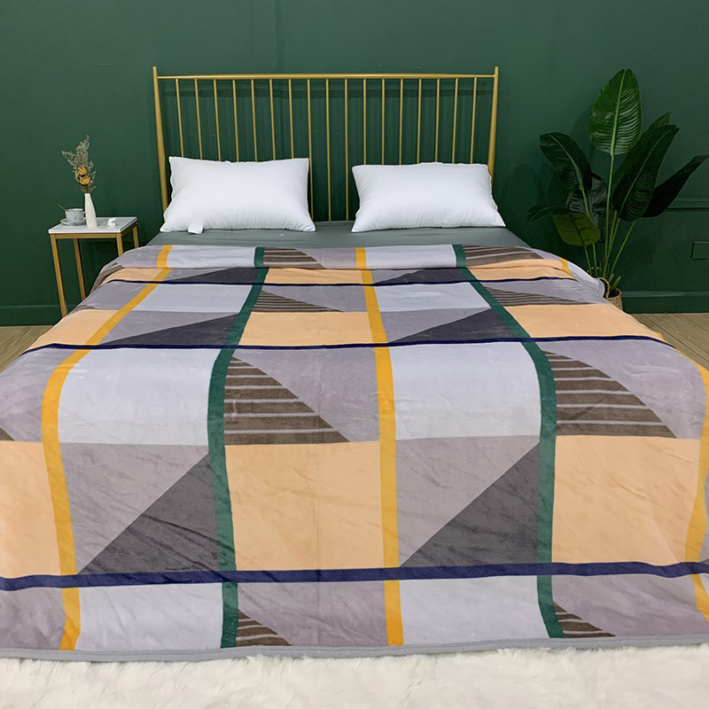 Double Sided Flannel Blanket for Sleeping