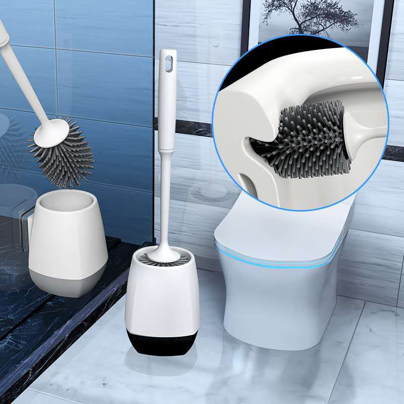 Reusable and Clean Toilet Brush for Household Chores
