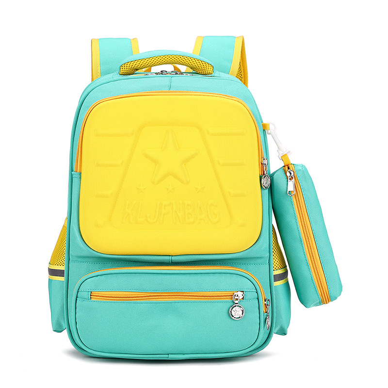Dual Toned Backpack for Children's Trendy Looks