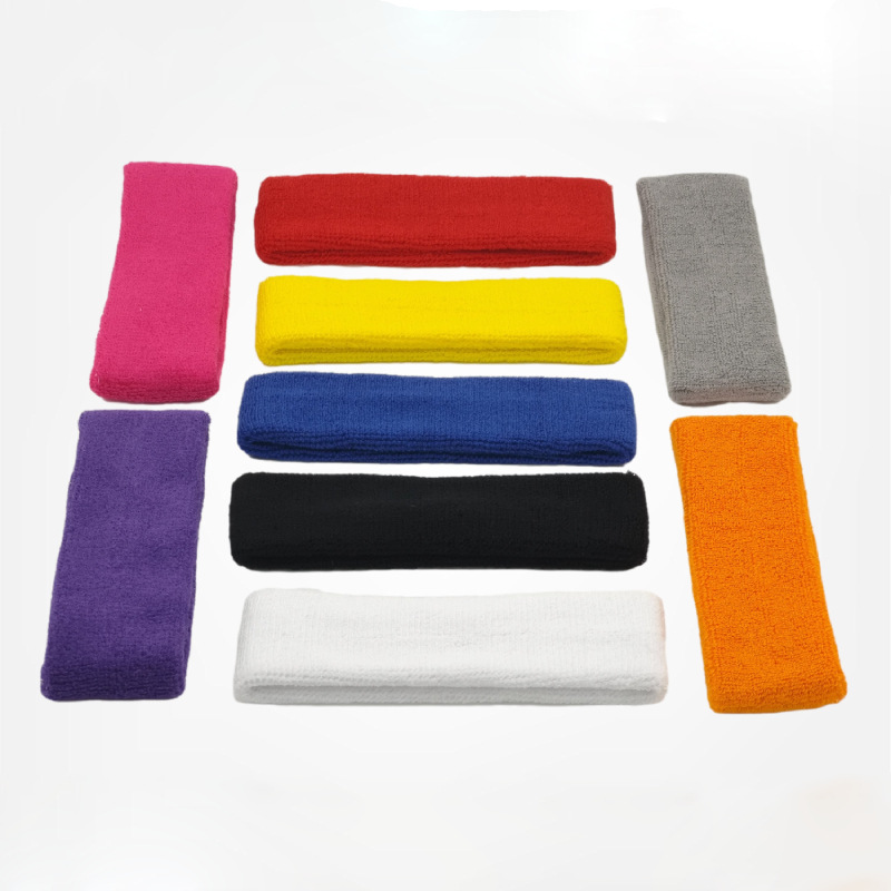 Colored Super Stretchable Knitted Headband for Sports Wear