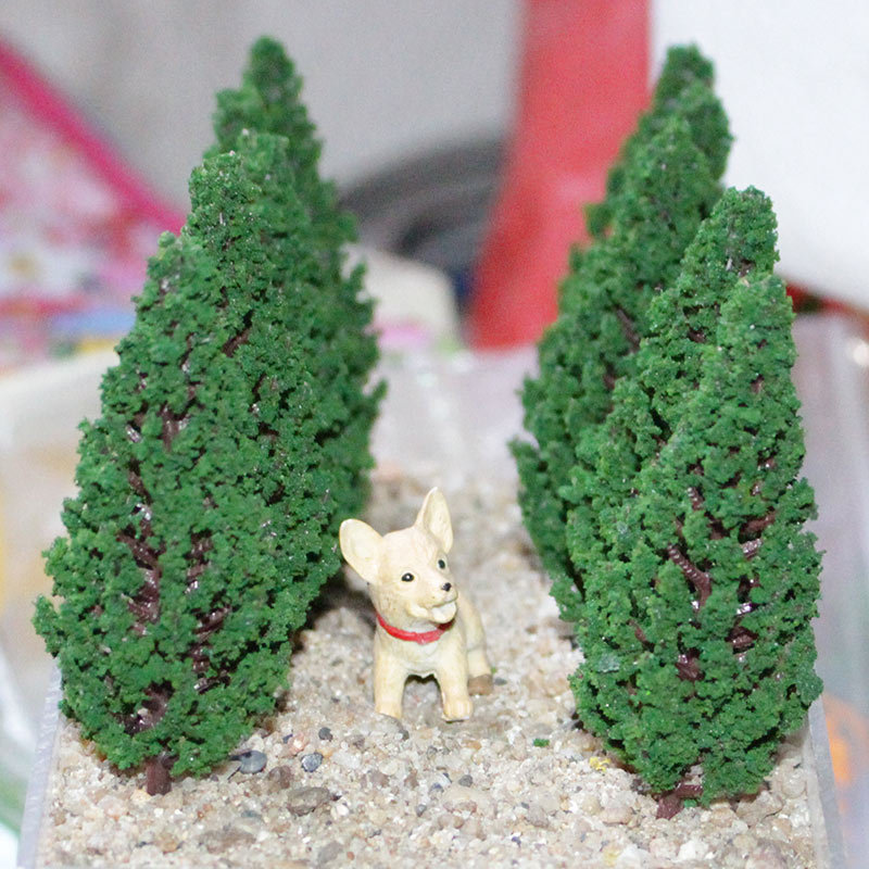 Landscaping Faux Pine Tree for Architectural Models