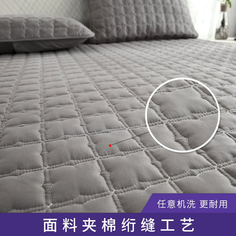 Quilted Waterproof Cotton Bed Sheet for Mattress Cover