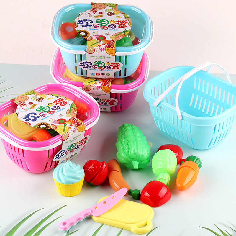 Fruit and Vegetable Chopping Simulation Toy Set for Little Chefs