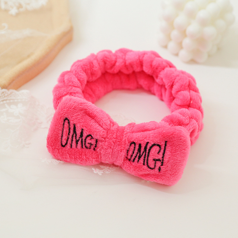 Statement Bow Face Wash Headband for Beauty Routine