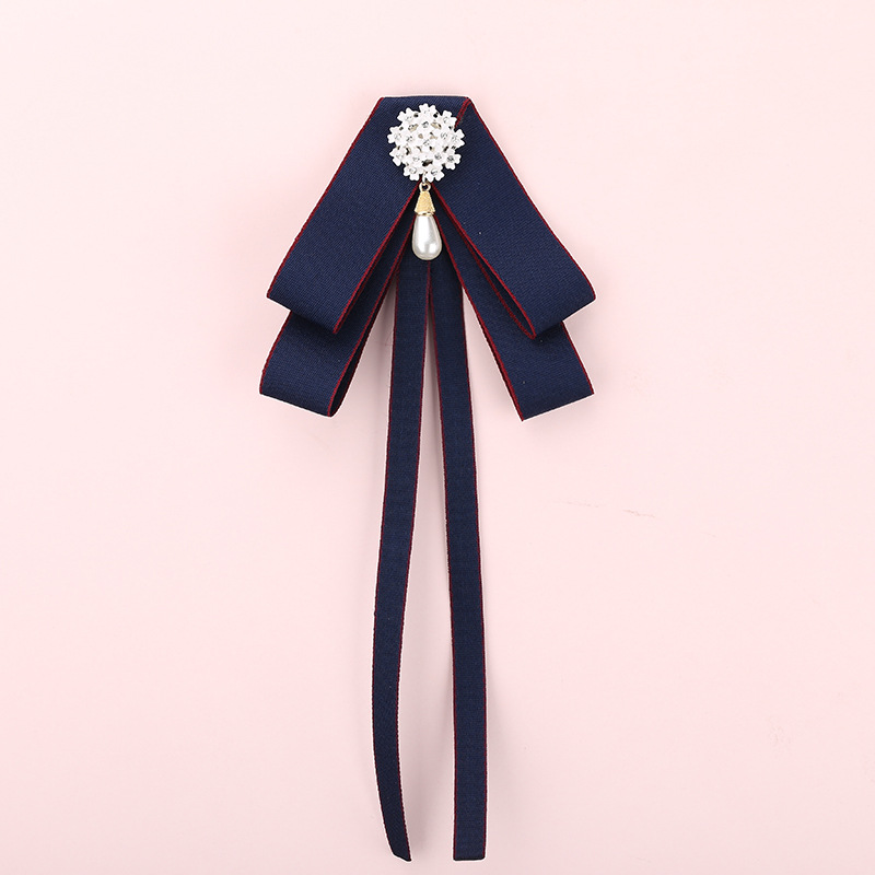Lovely and Fashionable Pin Brooch Ribbon Bow Tie Accessories for Stylish Look