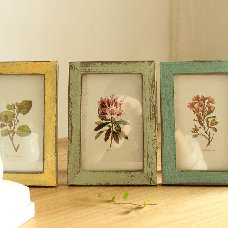 Painted Decorative Picture Frame