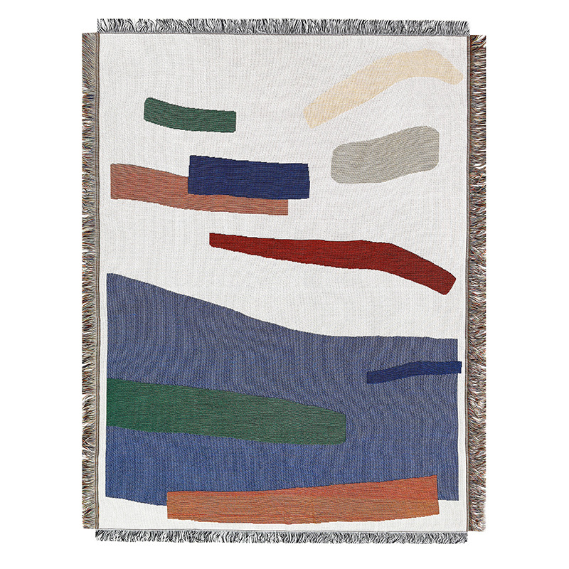 Abstract Strokes Tapestry