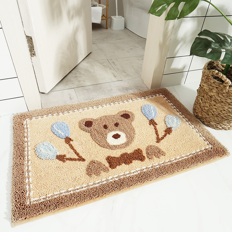 Cute Critter Non-Slip Absorbent Mat for Charming Homes