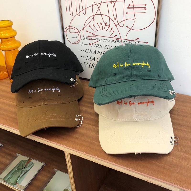 'Art is for Everybody' Pierced Statement Cap