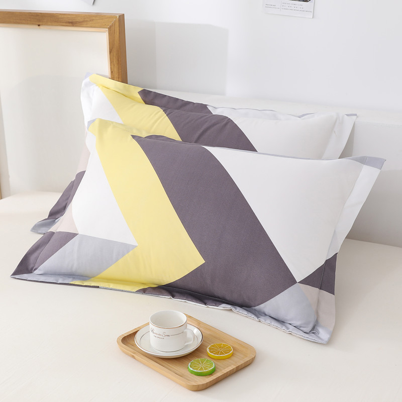 Comfortable Twill Pillow Cover for Student's Dormitory