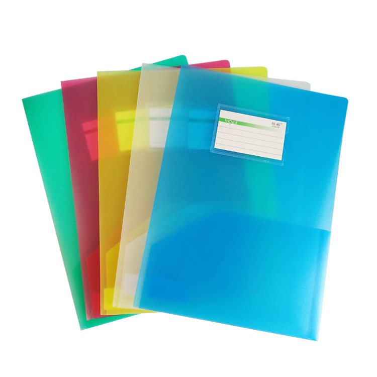 Convenient A4 Double Folder Pocket for Office Files