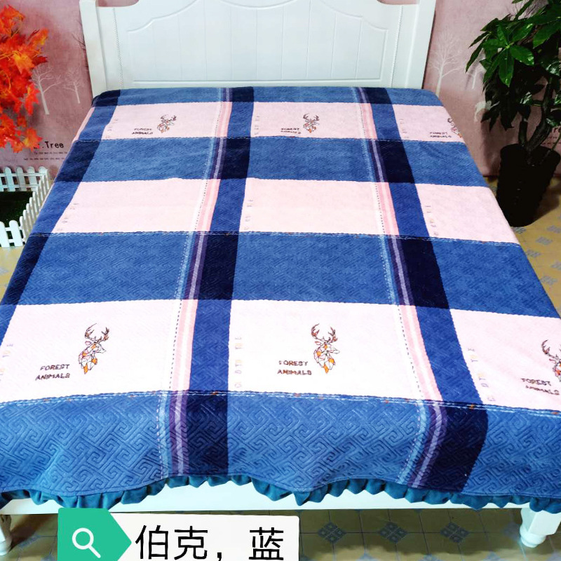 Nature Depictions Blanket for Snug Sleep