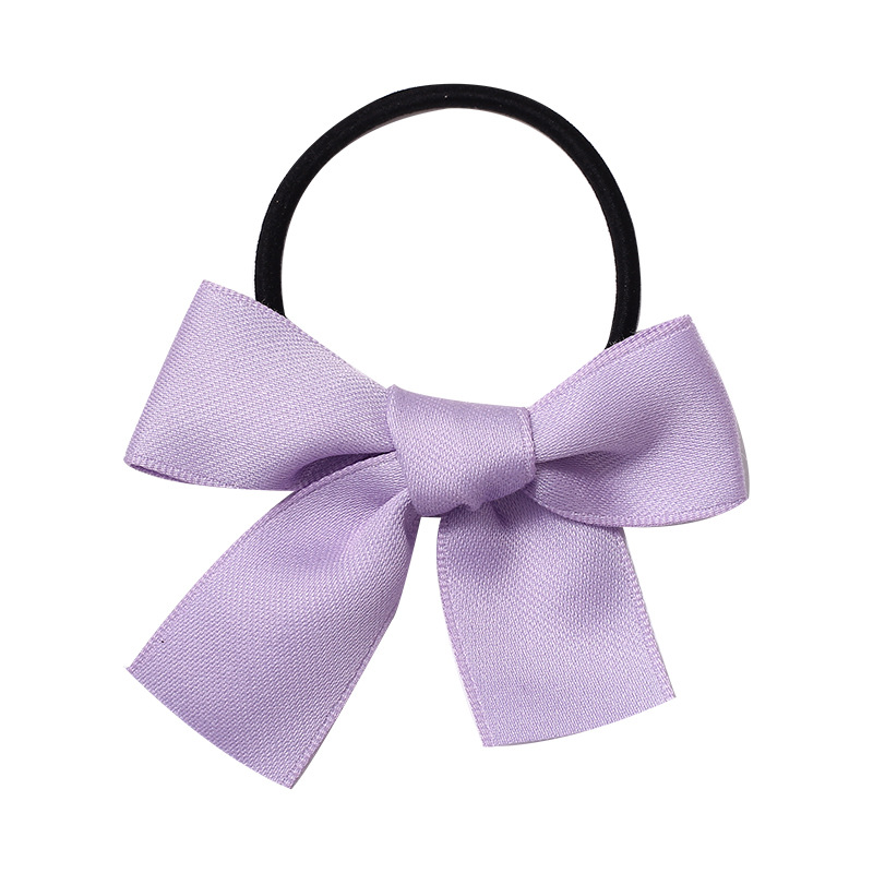 Colored Ribbon Hair Tie for Pairing with Toddlers' Outfits