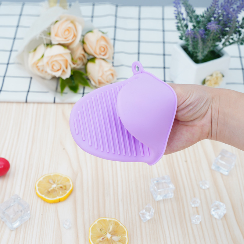Thick Easy-Grip Silicone Kitchen Gloves for Heat Protection