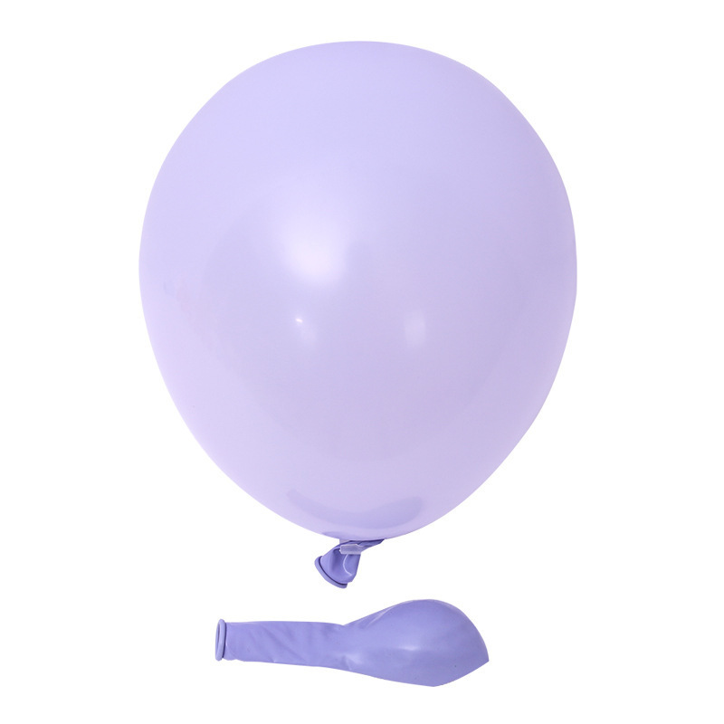 Macaron Color Latex Balloon for Holiday Occasions