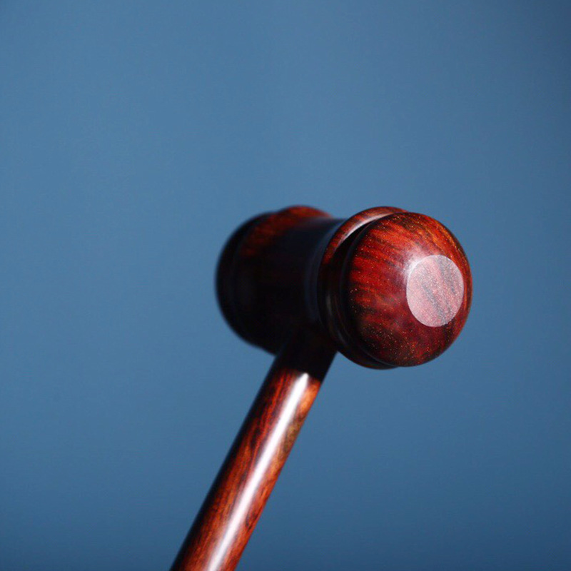 Dark Mahogany Massage Hammer for Working Out Kinks in the Body