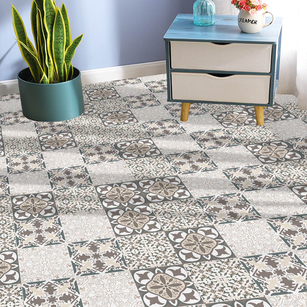 European Style Square Carpets for Homes Floor Protection