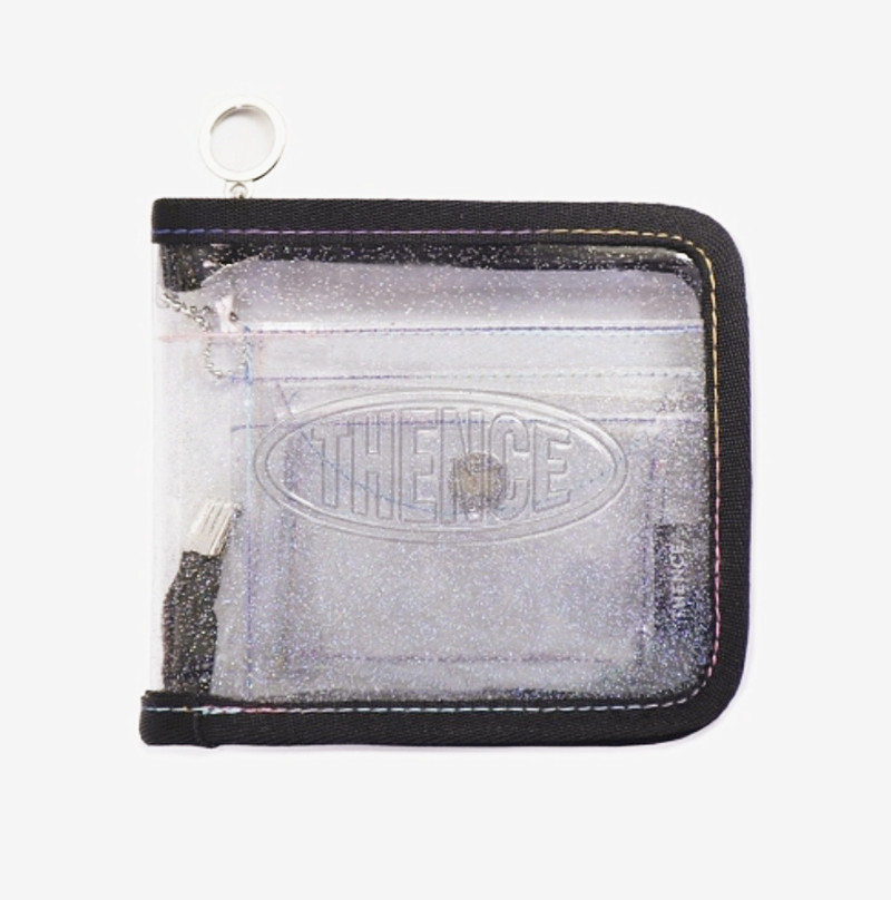 Transparent Zippered PVC Card Case for Loved Ones Pictures