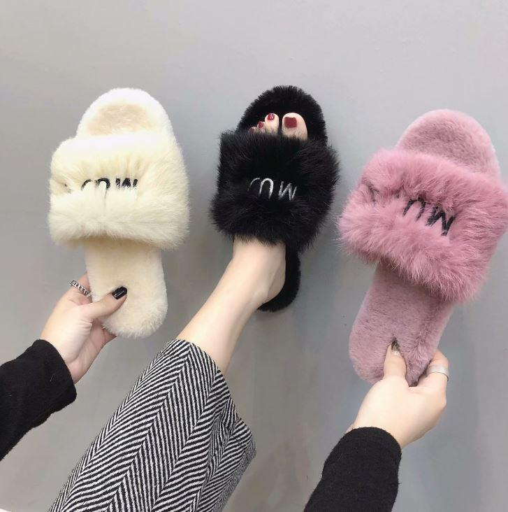 Fuzziest Slippers Ever