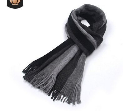 Cashmere-knitted Wool Scarf
