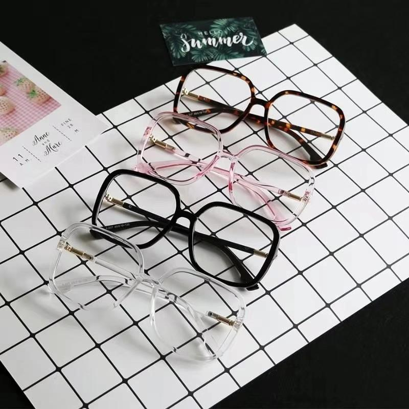 Loud and Square Eyeglasses